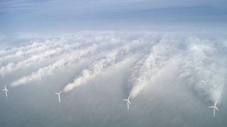 Equinor vil bygge verdens største flytende havvindpark i Sør-Korea, med 100 turbiner. På Hywind Tampen er det planlagt åtte