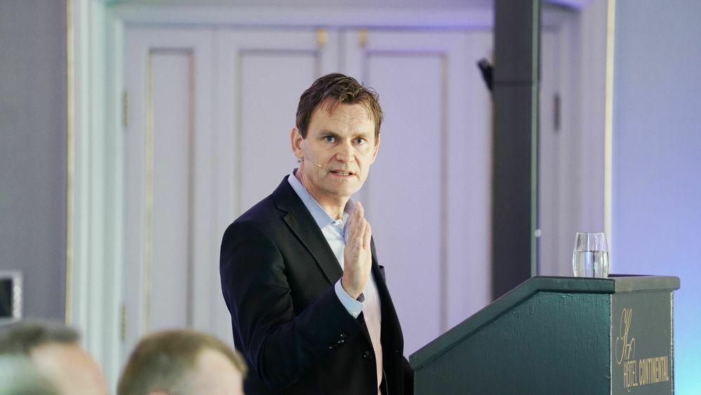 Jon André Løkke, adm. direktør i Nel Hydrogen.