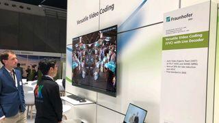 Fraunhofer HHI demonstrerte programvarebasert H.266/VVC-avspilling under Ifa-messen høsten 2019.