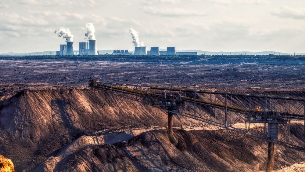 Kullkraft er ikke lenger lønnsomt i Tyskland, og bruken faller dramatisk. Bildet er fra Boxberg-anlegget i Tyskland.