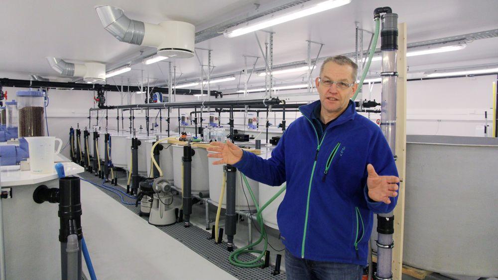 Odd-Ivar Lekang tror USA kan komme til å sperre for norsk laks om landbasert produksjon tar av.
