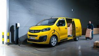 Nye Opel e-Vivaro.