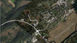 Her er fartsgrensen på europaveien 40 km/t. Nå skal flaskehalsen endelig bort