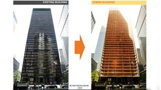 Kombinerer stål, betong og tre – kutter utslippene med 68 prosent