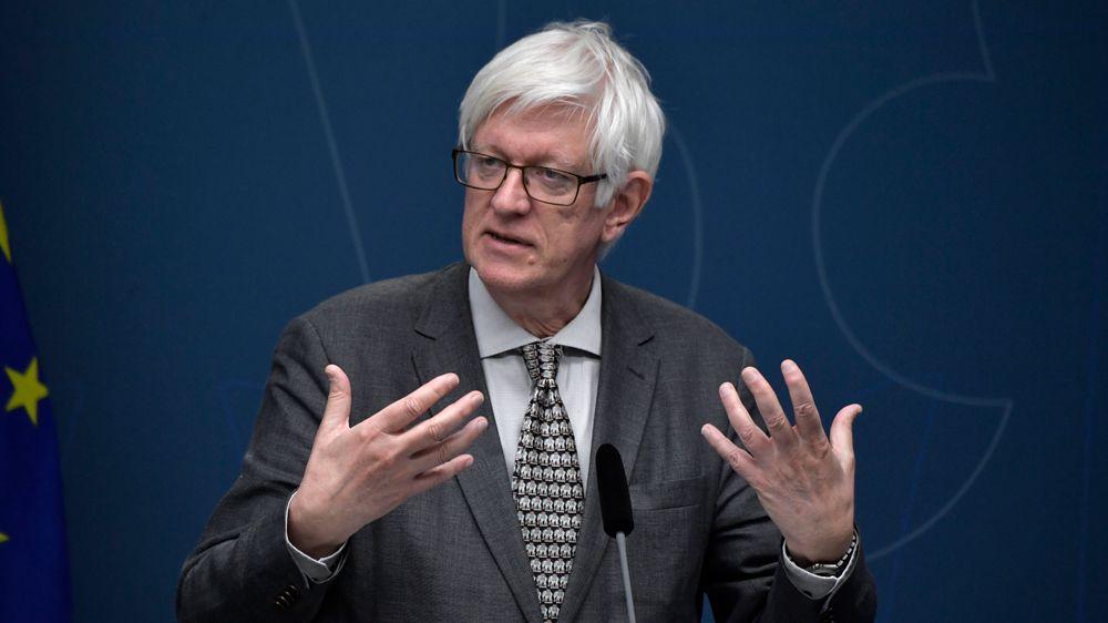 Johan Carlson, generaldirektør for Folkhälsomyndigheten i Sverige, mener så mye som 40 prosent av befolkningen i Stockholm kan være immune mot covid-19.