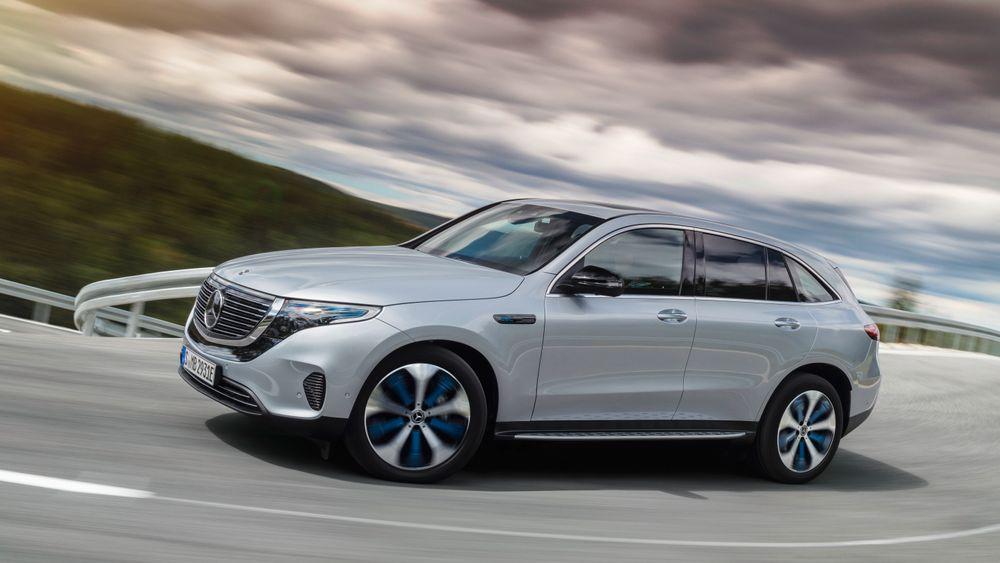 Mercedes-Benz EQC 400 er så langt den mest solgte elbilen i juli – en måned som foreløpig ligger an til å være et lyspunkt i antall registrerte elbiler etter at koronakrisen traff Norge i første del av mars.