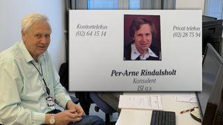 Per-Arne er kanskje Norges eldste IT-konsulent: – Da jeg startet, punchet vi programmene våre på hullkort