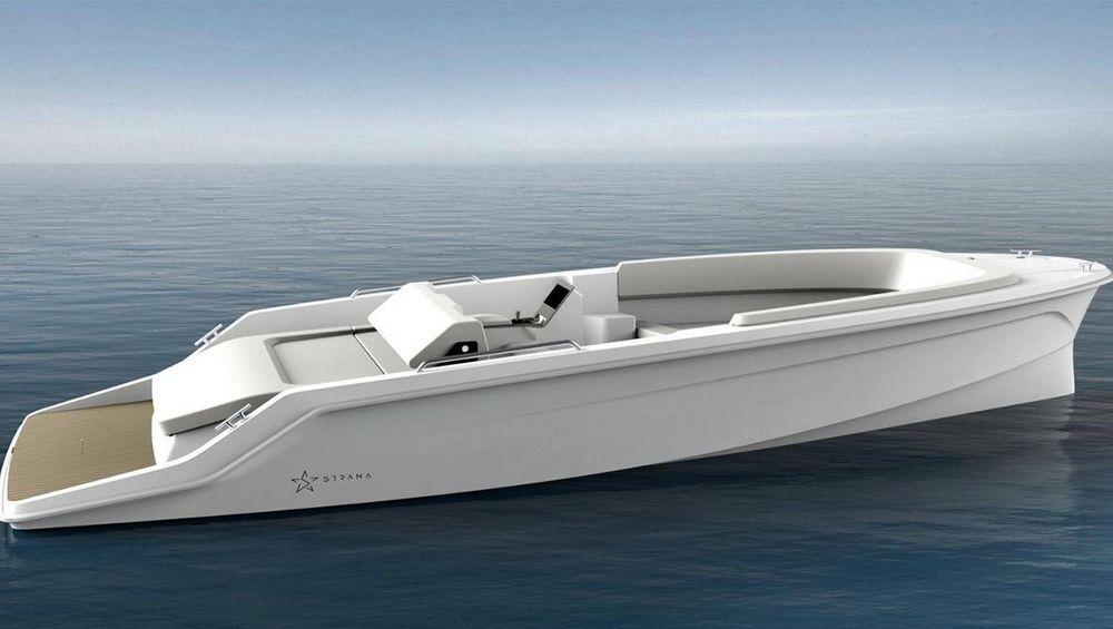 Den nye elbåten Strana går lenger enn konkurrentene, men i lavere hastighet. Den leverer 200 nautiske mil - med 5 knop. Maksimal hastighet er opptil 15 knop.