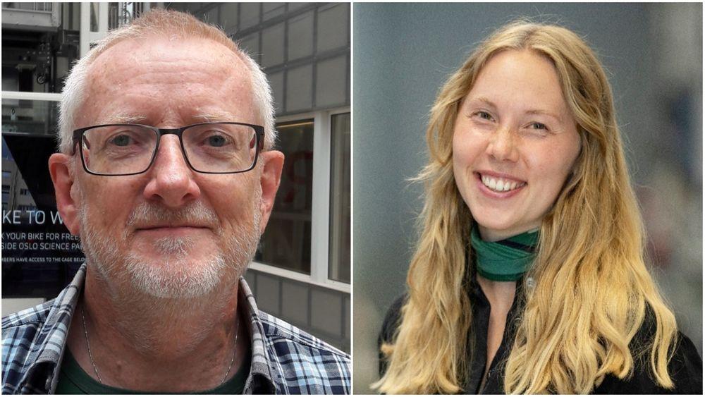 Tidligere nanoteknologi-student Karoline Sjøen anbefaler på det varmeste å skrive masteroppgaven hos en bedrift. Kjemiprofessor Truls Norby er noe mer skeptisk.