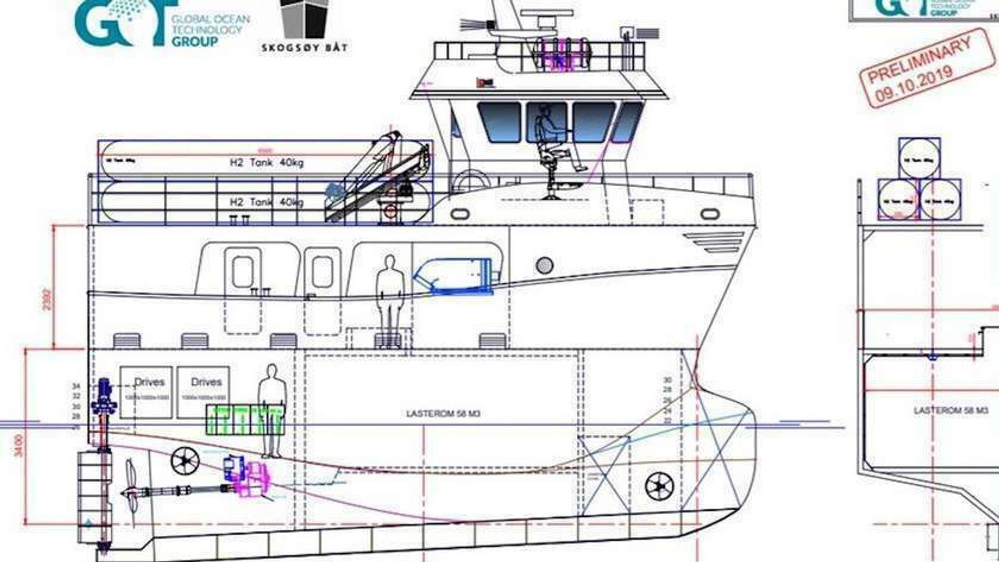 Den hydrogendrevne fiskebåten kommer ikke til å bli bygget, men en gruppe forskere skal bygge videre på planene.