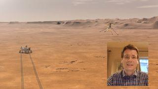 Slik skal norske Håvard styre det første helikopteret på Mars