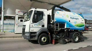 Hydrogen i dieselmotoren kan gi store utslippskutt fra nyttekjøretøy