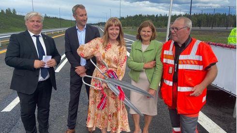 Norges største veiprosjekt noensinne er åpnet