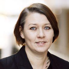Line Lervik-Olsen. Portrettfoto.