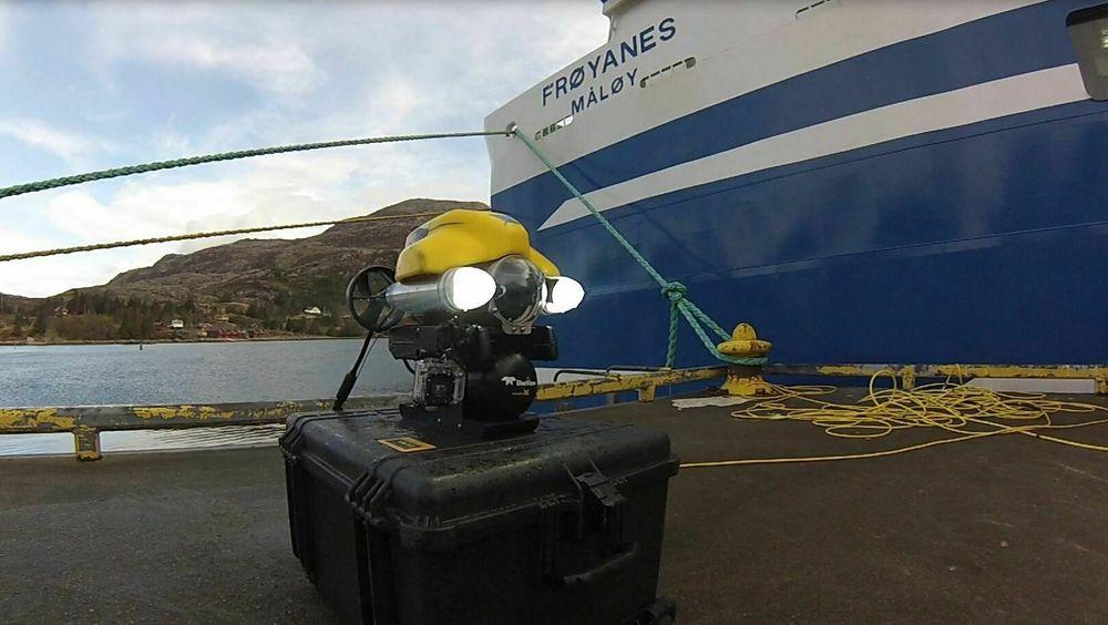 Mini ROVer kommer som ei kule, mener inspektør og Sjøfartsdirektoratet.