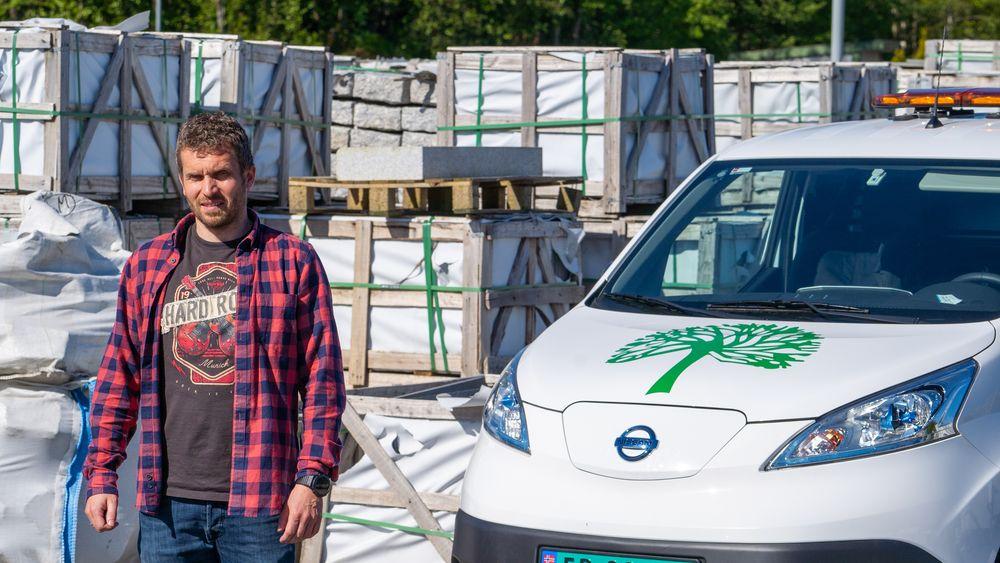 For mye støtte of for lite lastekapasitet, mener entreprenør Eirik Løvaas.