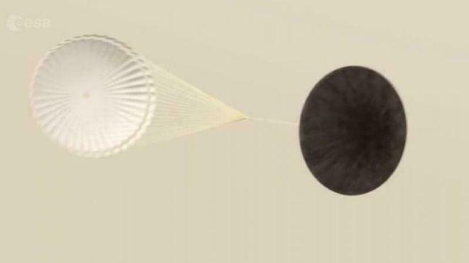 Spør ekspertene: Hvordan kan en fallskjerm fungere på Mars?