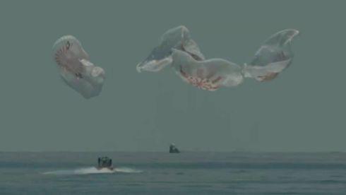 Her lander SpaceX-astronautene etter to måneder i rommet