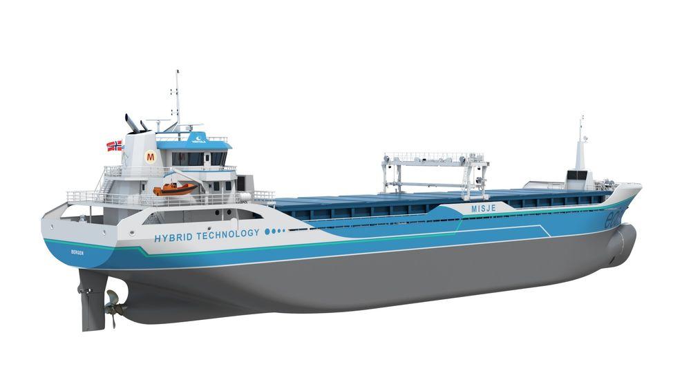 Misje skal ha seks nye hybride 90 meter lange bulkskip på 5.000 tonn dødvekt.