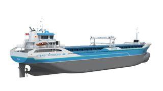 Norske verft ble for dyre: Bygger seks hybride bulkskip på Sri Lanka