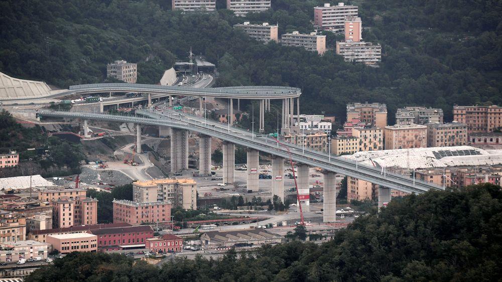 Forrige uke ble Genoa motorveibru i Italia åpnet, to år etter at den kollapset.