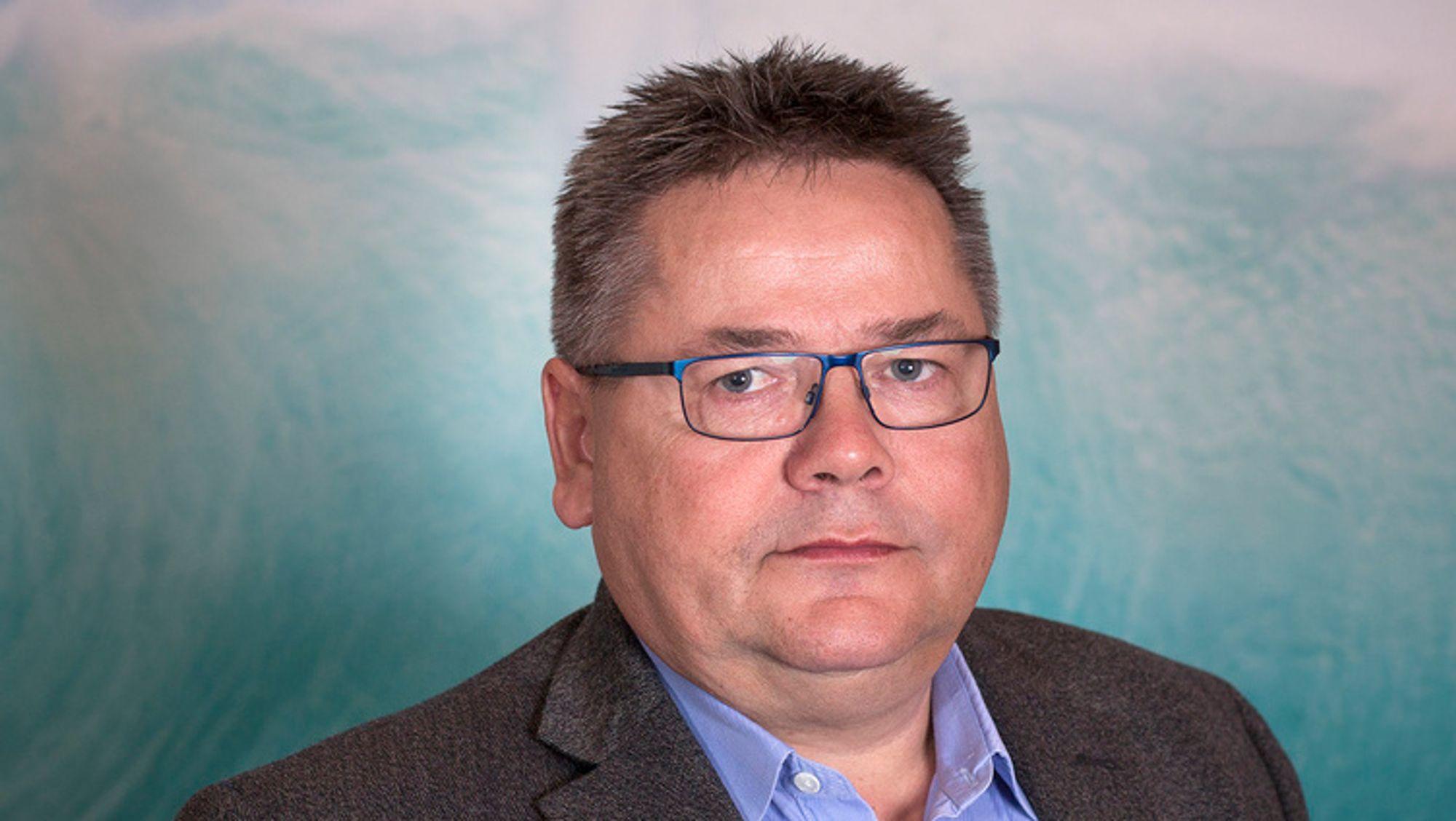 Johnny Hansen, leder i Norsk Sjømannsforbund