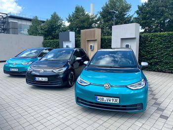 Et knippe VW ID.3 ble registrert i Tyskland i Juli. De fleste trolig hjemmehørende i Wolfsburg.