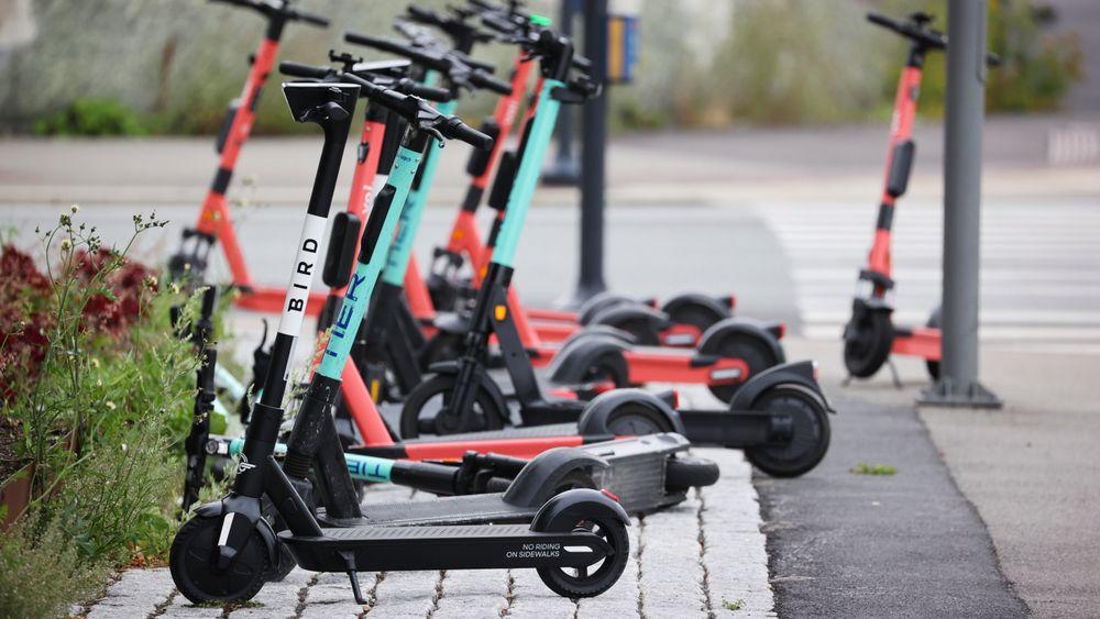 Oslo vil ikke kreve penger for inntauede sparkesykler