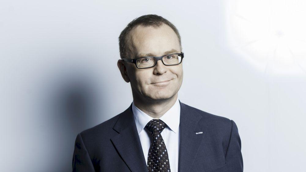 Knut Gaaseruder administrerende direktør i Caverion Norge.