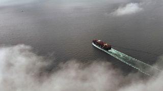 Til tross for grønnere frakt: Skipstrafikken slipper ut mer CO2