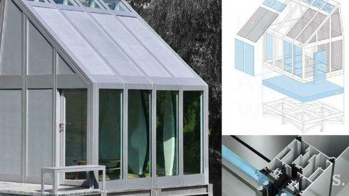 Vann i vinduer og vegger stopper sommervarmen og sparer energi