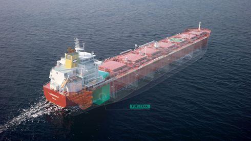 Rederiet Klaveness har fått fire NTNU-studenter til å «finne» framtidas nullutslippsskip: De fant to