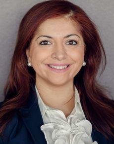 Monica Verma. Portrettfoto.