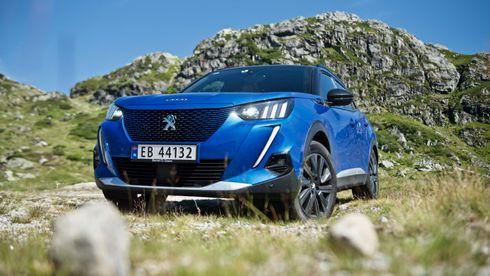100 mil med Peugeot e-2008: Med denne kan familien trygt dra på langtur