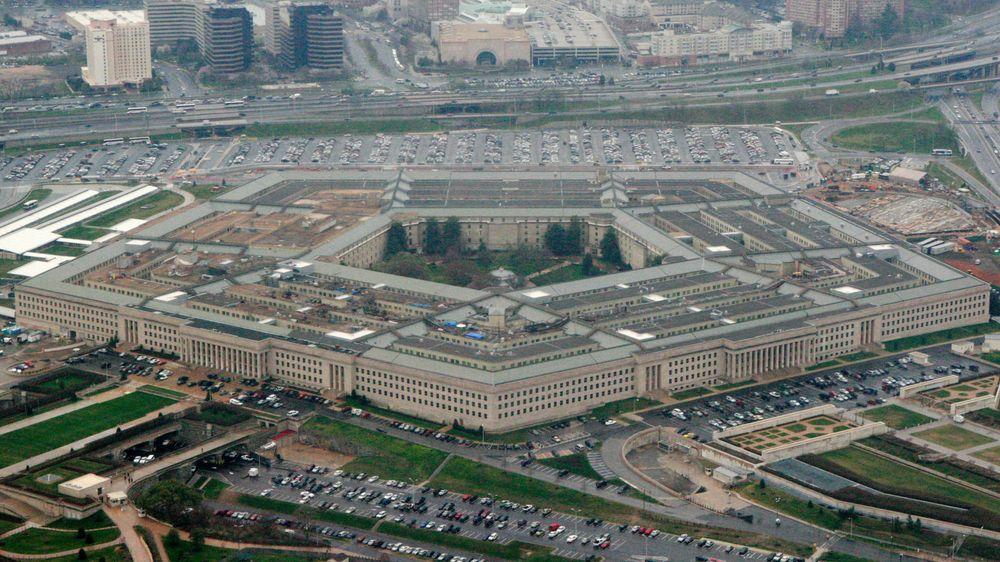 Det amerikanske forsvarsdepartementet Pentagon i Washington, her i et bilde fra 2008.