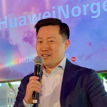 Anders Bigseth, presseansvarlig for forbrukerelektronikk i Huawei Norge.