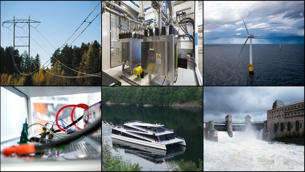 Fornybar energi, havvind, batterier, hydrogen, bygging av spesialskip, elbillading og drift av digitale kraftsystemer kan bli lønnsomme næringer for Norge, ifølge en rekke store norske selskaper.