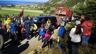 Politiet innfører oppholdsforbud rundt vindkraftutbyggingen på Haramsøya