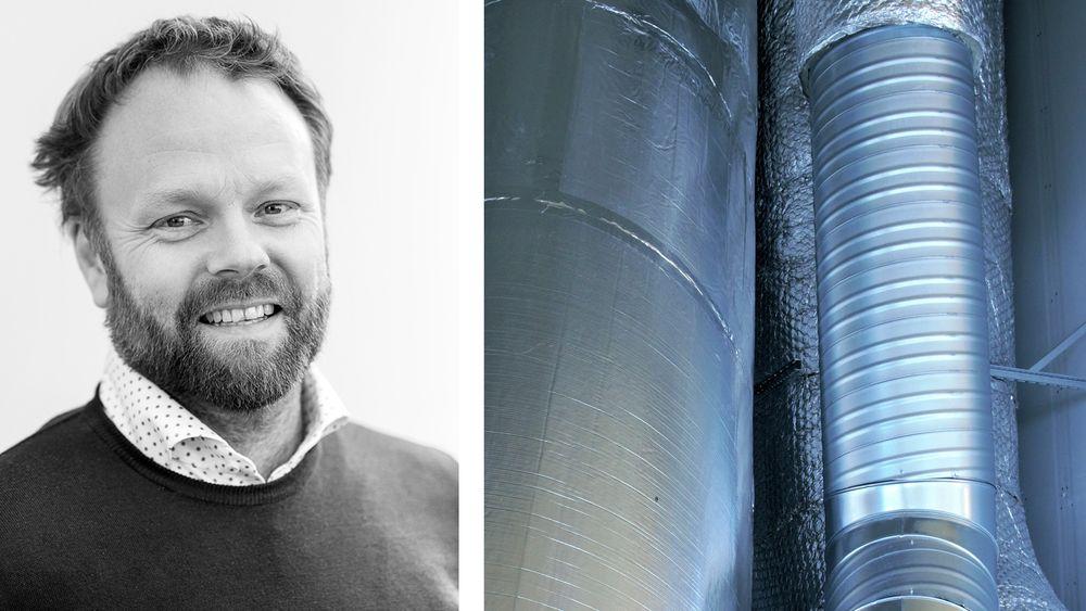 Nye leietakere har behov som gjør at det tekniske anlegget ofte må skiftes ut. Lite bærekraftig, mener Magnus Skallerud i Selvaag Eiendom.