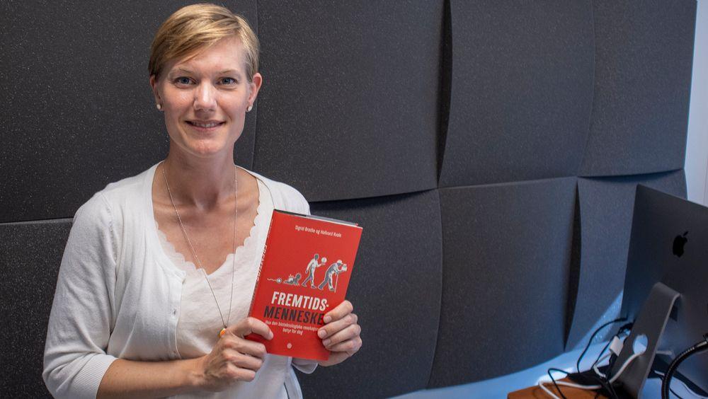 Fremtidens barn kan bli friskere: Doktor i molekylærbiologi Sigrid Bratlie og medforfatter av boken «Fremtidsmennesket»  som behandler et vanskelig tema for mange.