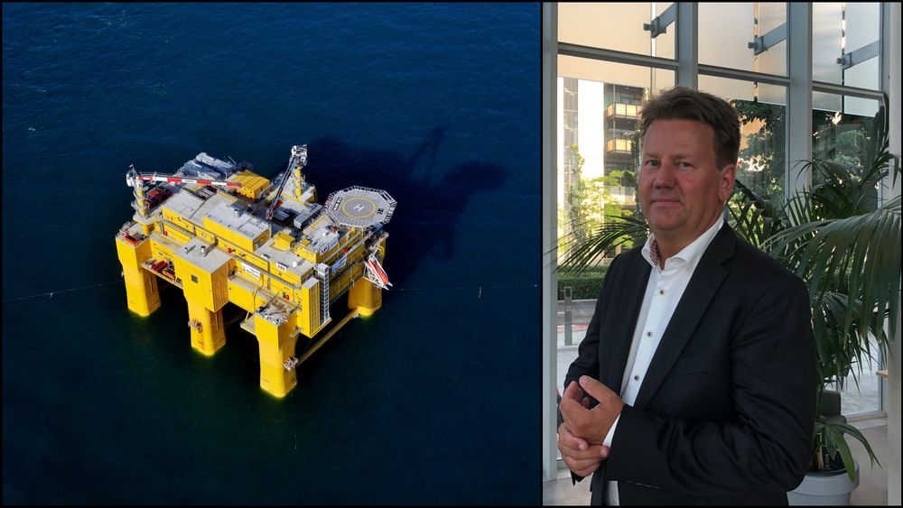 Aibels toppsjef Mads Andersen håper at halvparten av inntektene deres kommer fra andre ting enn olje og gass om fem år.