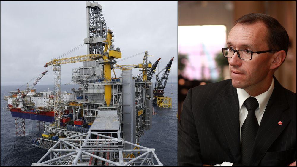 Espen Barth Eide og Ap var selv med på å vedta en stor skattepakke til oljeindustrien etter koronakrisen og oljeprisfallet i vår. Det medfører et ekstra ansvar for politikere og bedrifter, sier Eide.
