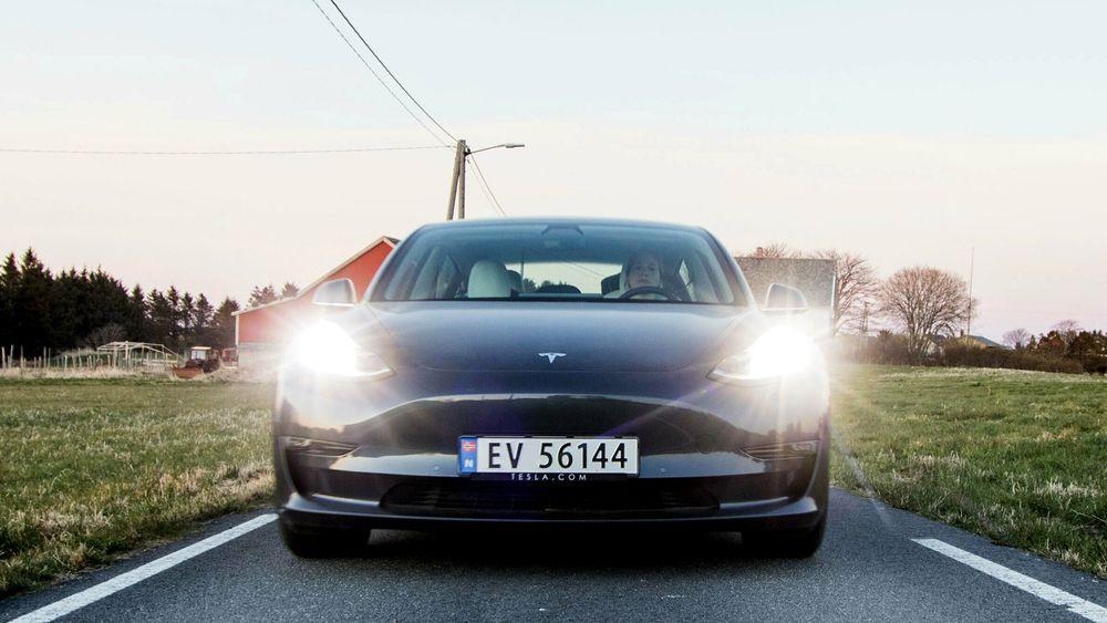 Elbilmarkedet i USA henger i veldig stor grad på Tesla og Model 3 foreløpig.