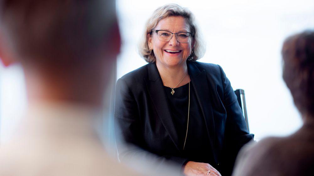 Grethe Moen har vært Petoro-sjef siden 2013, og har før det hatt flere fremtredende stillinger i oljebransjen.