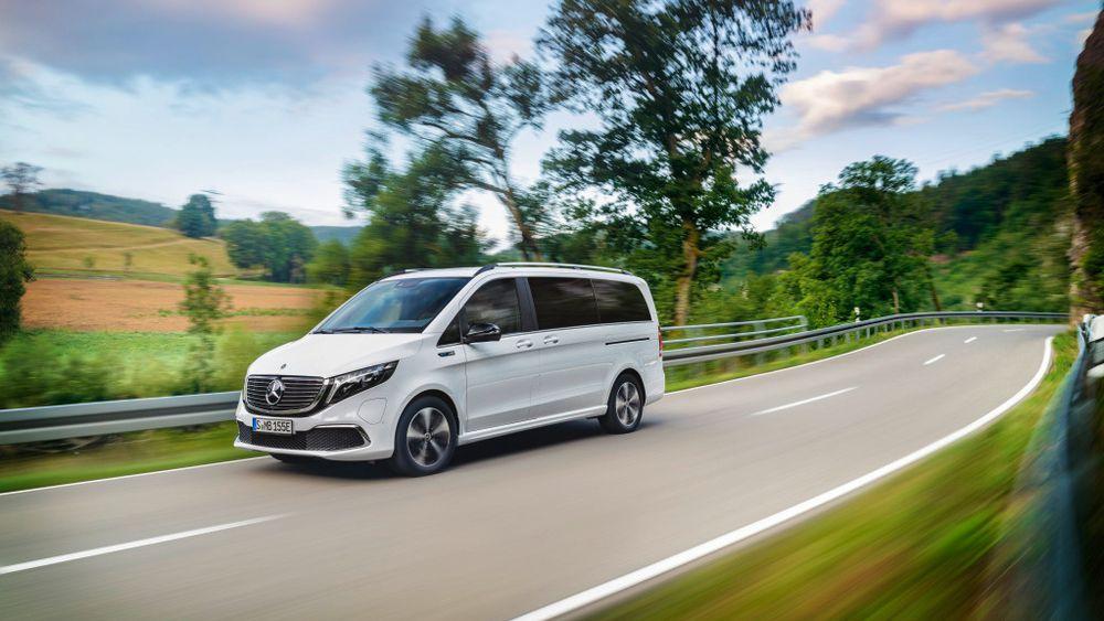 Mercedes-Benz EQV har inntil åtte seter.