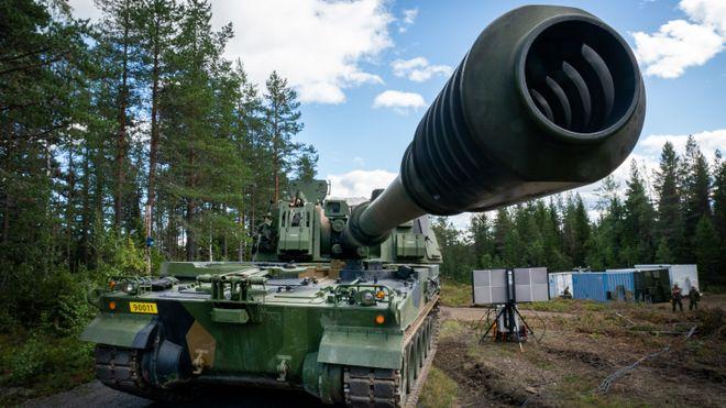 Nå skal disse kanonene siktes kjapt inn på fienden ved hjelp av nye radarer