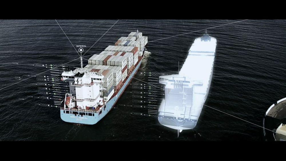 Kongsberg Digital setter fortgang i arbeidet med å lage digitale tvillinger av skip. Simulatorteknologien Kongsberg har utviklet gjennom mange år spiller en viktig rolle.