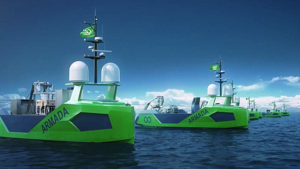 Det norske verftet GMV skal bygge førerløse fartøy for amerikanske Ocean Infinity.