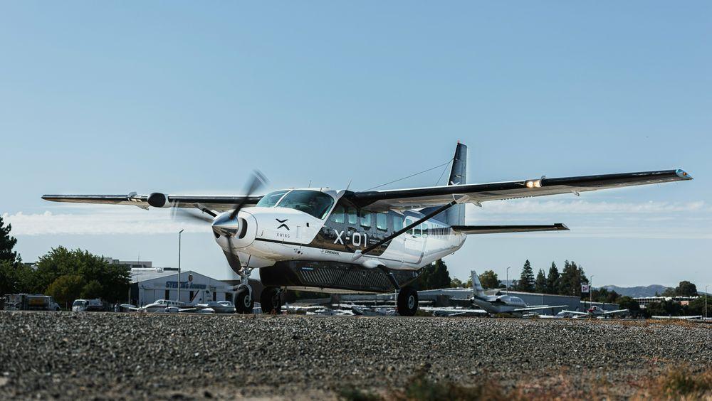 Xwings konverterte Cessna 206B Grand Caravan har blitt testet intensivt denne sommeren.