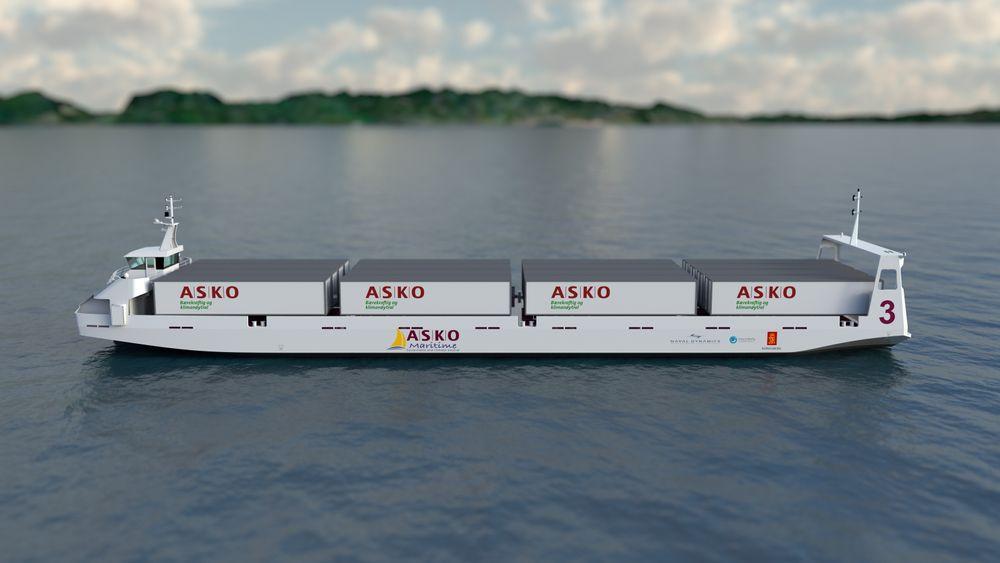 Asko bygger autonome og elektriske sjødroner i India Tu.no
